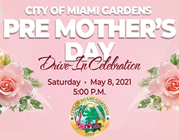 Flyer for Pre-Mother's Day Celebration