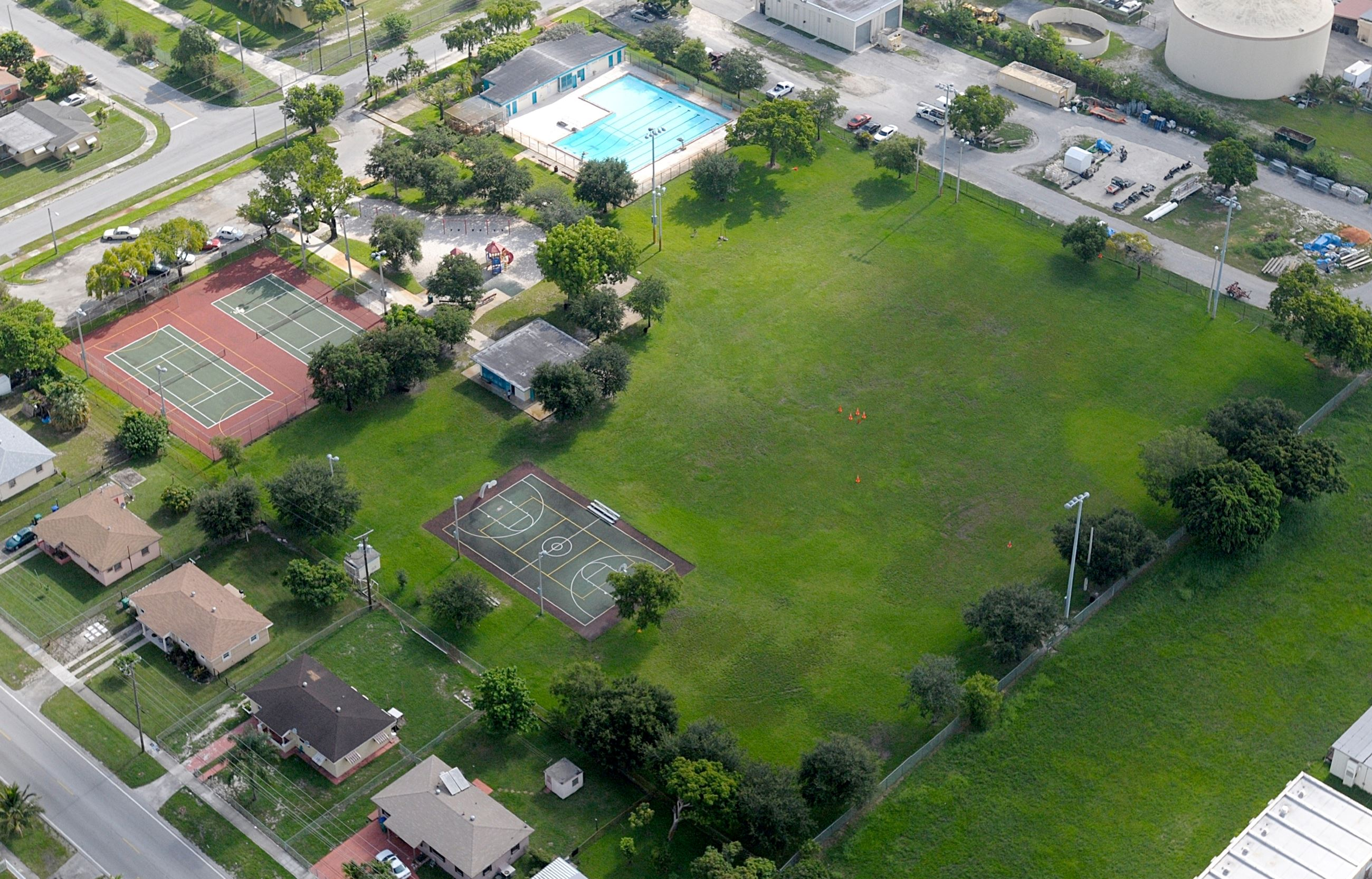 Myrtle Grove Aerial View